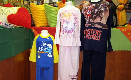 Bytový textil Trenčín - pyžamá